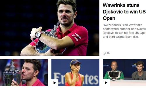 CK US Open: Hạ Djokovic, thế giới ngả mũ trước Wawrinka - 6