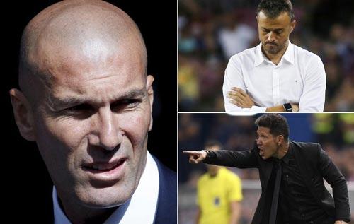 Tiêu điểm V3 La Liga: Zidane và Real thống trị năm 2016 - 3