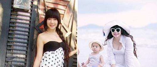 Vòng 1 vợ Lý Hải ngày càng nóng bỏng sau 4 lần sinh con - 9