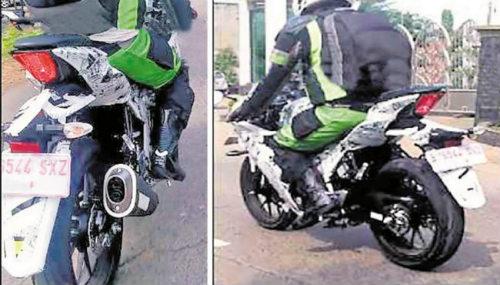 """Suzuki Gixxer 250 lộ ảnh thử nghiệm """"dọa"""" Honda CBR250RR - 1"""