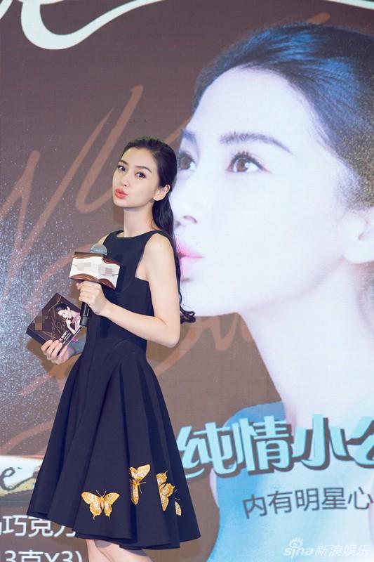 Sốc vì nhan sắc không photoshop của vợ Huỳnh Hiểu Minh - 12