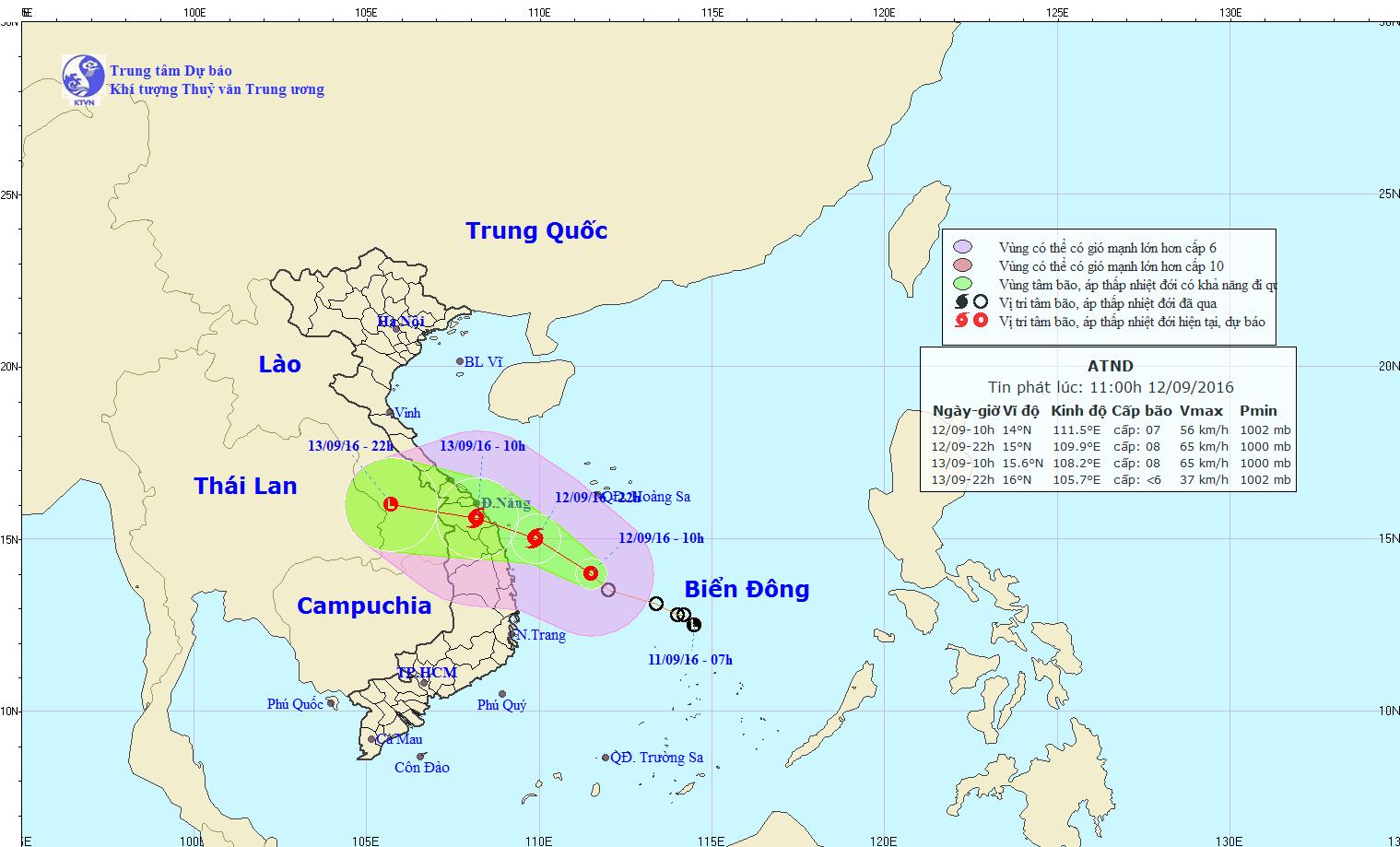 Quảng Nam- Quảng Ngãi: Dừng các cuộc họp để chống bão - 4