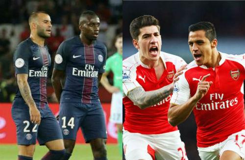 Lượt trận mở màn cúp C1: Hồi hộp đại chiến PSG - Arsenal - 1