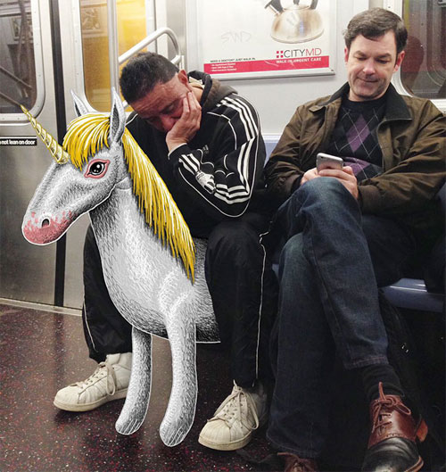 Bộ ảnh cười khiến mọi người không dám ngủ nơi công cộng - 4