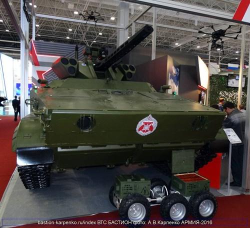 """Robot chiến đấu tự động """"Gió lốc"""" Nga sẵn sàng tham chiến - 1"""