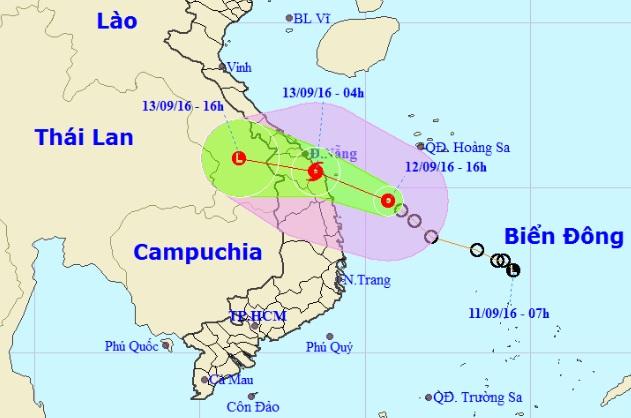 Tối nay, bão số 4 sẽ đổ bộ Quảng Nam-Bình Định - 2