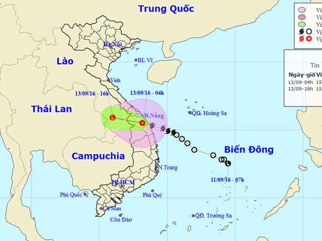 Bão số 4 suy yếu thành áp thấp nhiệt đới - 1