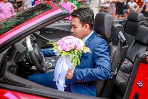 Choáng màn rước dâu 100 xe ô tô của cặp đôi Sơn La - 6