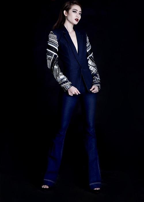 Vừa bị loại khỏi Next Top Model, Kim Nhã tung ảnh chất lừ - 4