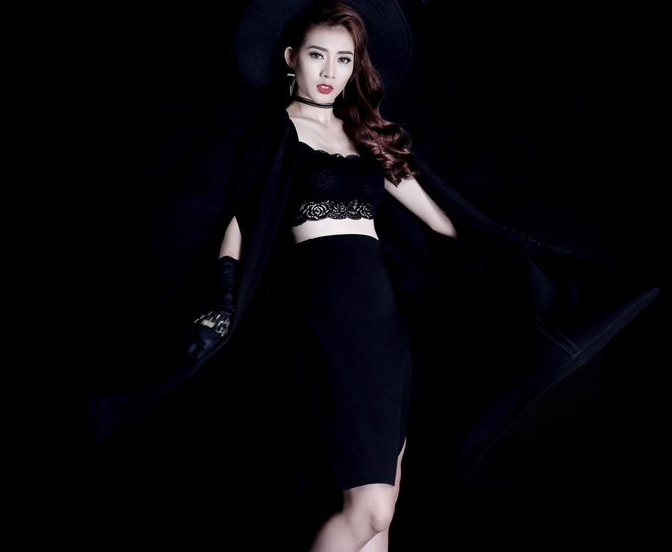 Vừa bị loại khỏi Next Top Model, Kim Nhã tung ảnh chất lừ - 6