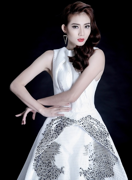 Vừa bị loại khỏi Next Top Model, Kim Nhã tung ảnh chất lừ - 7