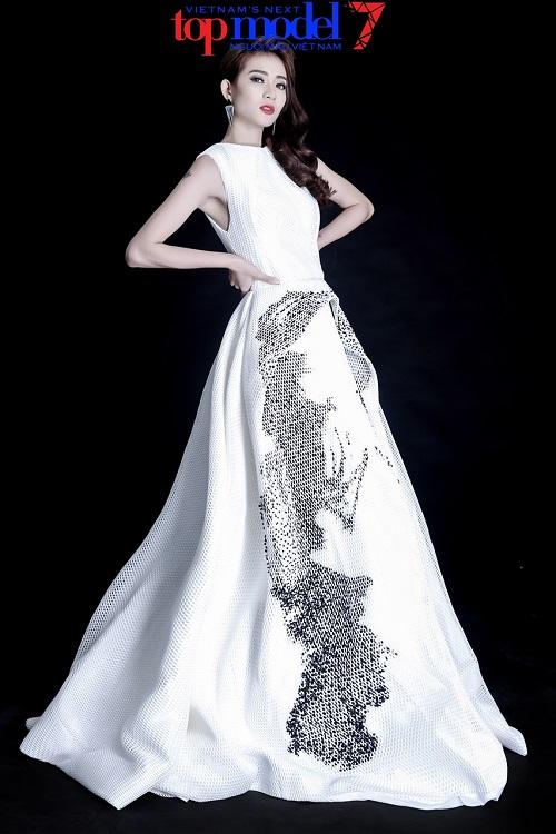 Vừa bị loại khỏi Next Top Model, Kim Nhã tung ảnh chất lừ - 8