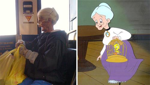 Những nhân vật hoạt hình đều có thực ngoài đời - 5