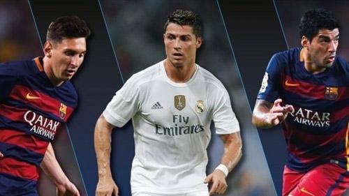Đội hình trong mơ Cúp C1: CR7 sát cánh Messi-Suarez - 3