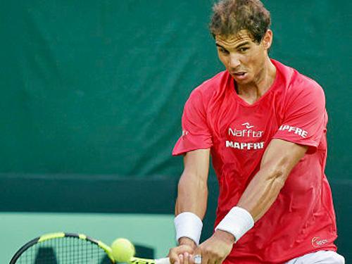 Tin thể thao HOT 13/9: Nadal sẵn sàng cho Davis Cup - 1