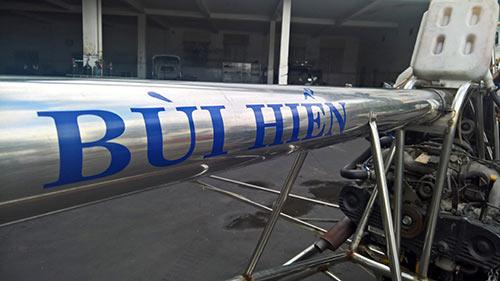 """Cận cảnh máy bay vừa cất cánh của """"hai lúa"""" Bình Dương - 6"""