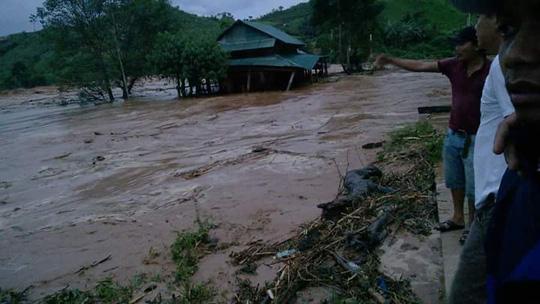 Vụ vỡ cống thủy điện Sông Bung 2: 2 công nhân mất tích - 1