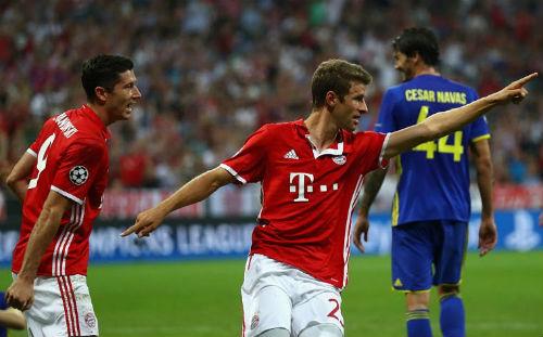 """Bayern - Rostov: Tiệc """"5 sao"""" ngày khai màn - 1"""