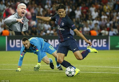 Góc chiến thuật PSG - Arsenal: Công & tội của Wenger - 1