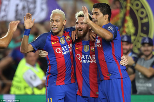 Enrique khen Messi hay nhất mọi thời đại - 1