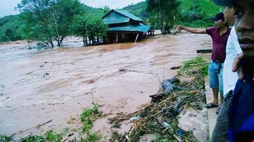 Vụ sự cố Sông Bung 2: Nhiều người vẫn mất liên lạc - 1