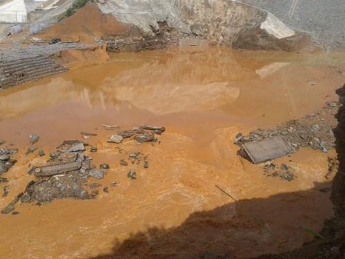 Sốc với hiện trường vỡ đường ống thủy điện Sông Bung 2 - 3