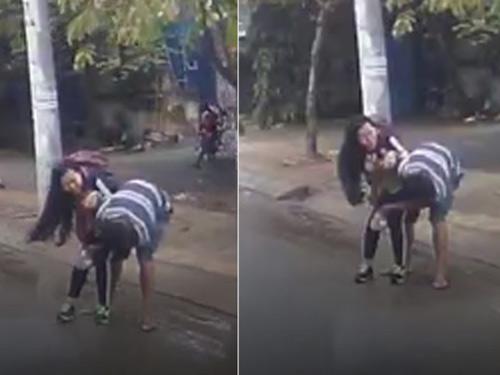 Cô gái tủi hổ vì ba lần bị sàm sỡ  trước đám đông - 2