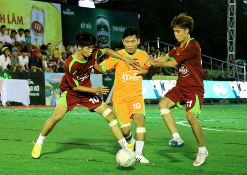 Chung kết Giải Bóng đá mini phong trào toàn quốc Cúp bia Sài Gòn 2016 - 1