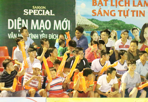 Chung kết Giải Bóng đá mini phong trào toàn quốc Cúp bia Sài Gòn 2016 - 2