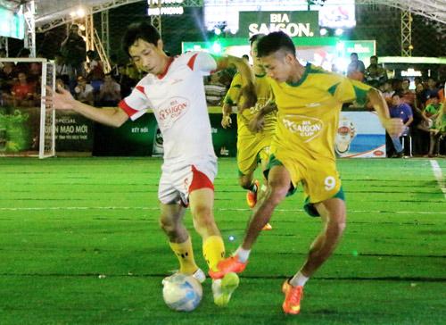 Chung kết Giải Bóng đá mini phong trào toàn quốc Cúp bia Sài Gòn 2016 - 5