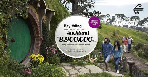 Vi vu du lịch đến Auckland giá chỉ  8.900.000 đồng - 1