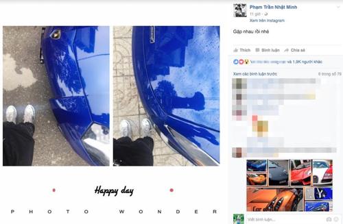 """Minh """"Nhựa"""" tậu cặp đôi siêu xe khủng màu xanh dương - 1"""