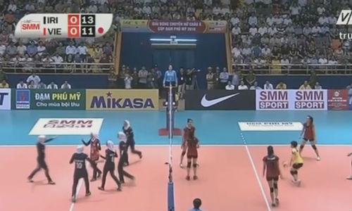 Việt Nam - Iran: 5 set căng thẳng (Bóng chuyền nữ châu Á) - 1