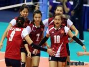 Thể thao - Kết quả cúp bóng chuyền nữ châu Á 2016