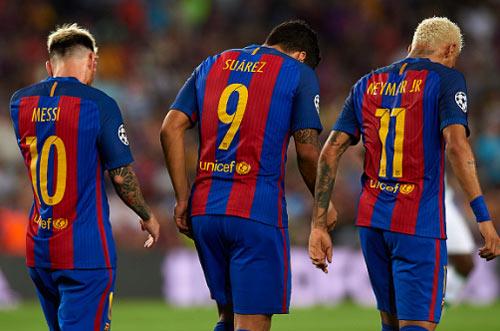 """Bộ ba MSN vĩ đại ở Barca vì có """"giác quan thứ sáu"""" - 1"""