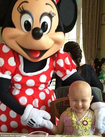 Bé gái Anh 4 tuổi chiến thắng 7 khối ung thư trong cơ thể - 2