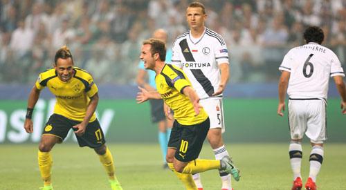 Legia - Dortmund: Hỏa lực khủng khiếp - 1