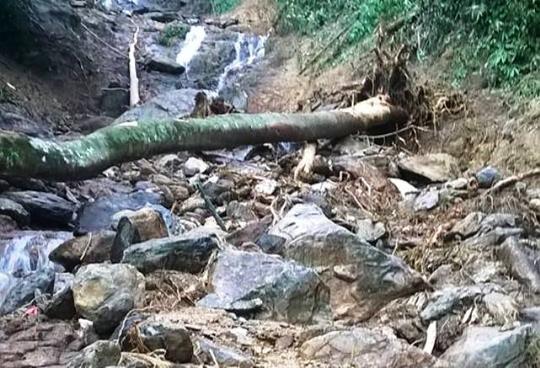 Cận cảnh hiện trường vụ sạt lở núi vùi 7 người - 4