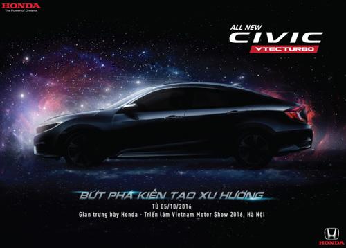 Civic thế hệ thứ 10 - mẫu xe đột phá năm 2016 - 1