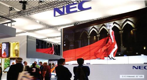 Giải pháp màn hình hiển thị kích thước lớn Nec Videowall - 1