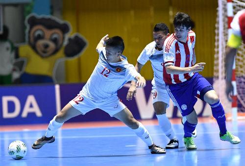 Futsal Việt Nam - Paraguay: Bài học xương máu - 1