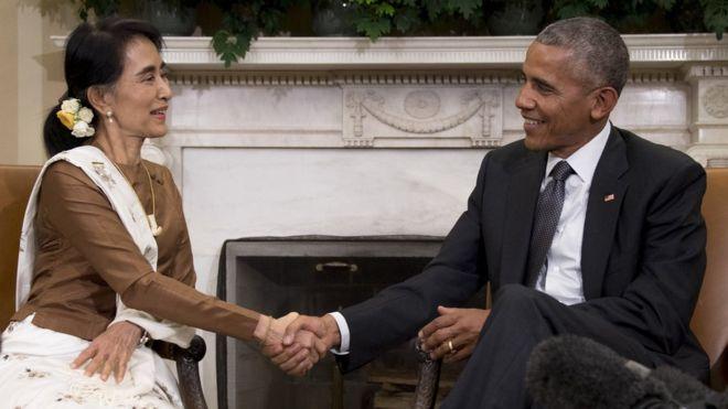 Mỹ dỡ lệnh cấm vận thương mại Myanmar - 1