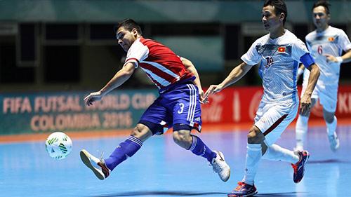 ĐT futsal Việt Nam bị Paraguay bắt bài ở World Cup - 1
