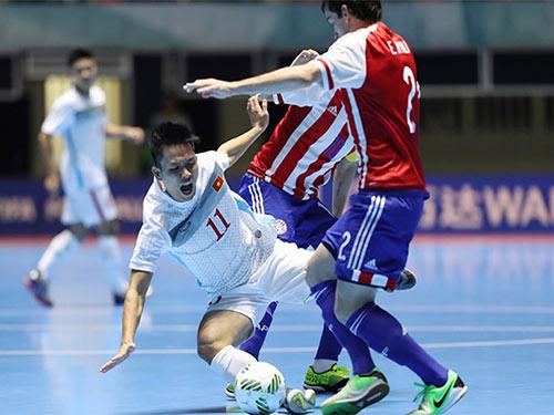 ĐT futsal Việt Nam bị Paraguay bắt bài ở World Cup - 2