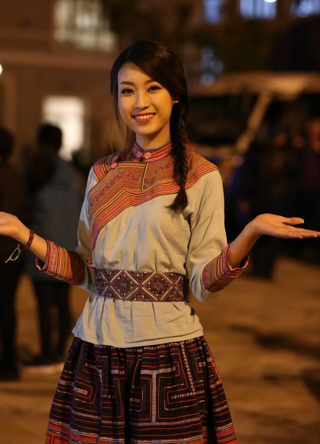 Hoa hậu Mỹ Linh bất ngờ làm MC truyền hình - 1