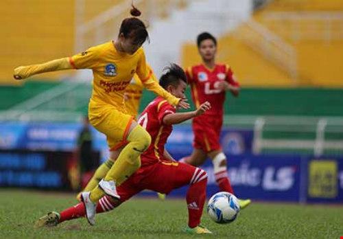 Giải bóng đá nữ quốc gia: Sau hai lượt đi, về là đá knock out - 1