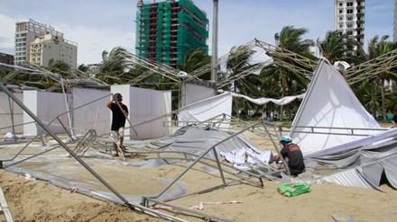 Đại hội Thể thao Bãi biển châu Á: Nỗi lo mưa bão - 1