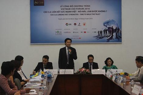 1.000 CEO hội tụ tại Việt Nam CEO Forum 2016 - 1