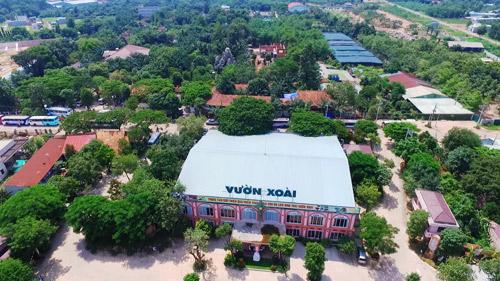 Sài Gòn cuối tuần kéo nhau xuống Vườn Xoài tận hưởng không gian xanh - 1
