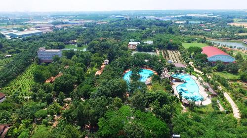 Sài Gòn cuối tuần kéo nhau xuống Vườn Xoài tận hưởng không gian xanh - 2